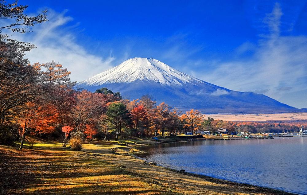 【2020】山中湖「夕焼けの渚・紅葉まつり」開催中~紅葉速報~